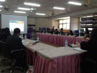 การเริ่มติดตั้งและฝึกอบรมการใช้ระบบสหกรณ์ออมทรัพย์ครูร้อยเอ็ด วันแรก ครั้งที่1